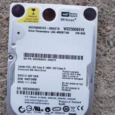 hard ide - pentru laptop - de 250 GB -