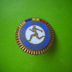 HOPCT ROMANIA INSIGNA SPORTIVA CUPA TINERETULUI 1974