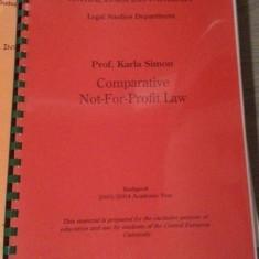 COMPARATIVE NOT-FOR-PROFIT LAW-KARLA SIMON