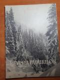 revista padurilor martie 1962-drumul forestier ghimbav,art. orastie,petrosani