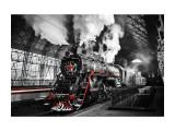 Tablou Sticla Locomotive, 120 x 80 cm