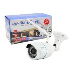 Resigilat : Camera supraveghere video PNI House IP32 2MP 1080P wireless cu IP de e