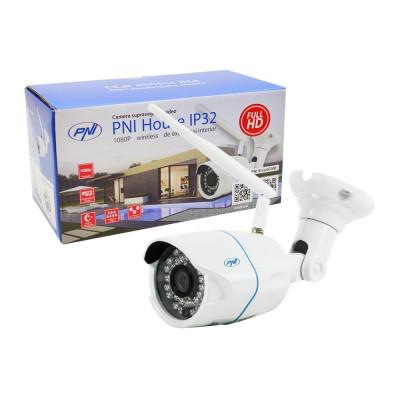 Resigilat : Camera supraveghere video PNI House IP32 2MP 1080P wireless cu IP de e foto