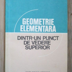 Geometrie elementara