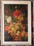 "Tablou Antichitati ""Fructe"" vechime peste 20 ani, Natura, Pastel, Altul"