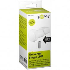 Convertor LNB universal Goobay, 1 x iesire, 0.1 dB
