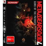 Joc PS3 Metal Gear Solid 4