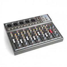 Vonyx VMM-F701 mixer , 5 x intrare mono / intrare microfon / ieșire stereo line