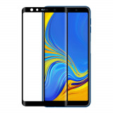 Folie Samsung Galaxy A7 2018 de sticla full screen NEVOX NEVOGLASS Black