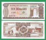 = GUYANA - 10 DOLLARS - 1992 - UNC  =