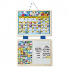 Calendar din lemn magnetic Melissa and Doug, Melissa & Doug