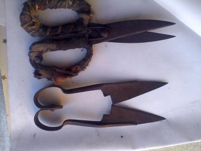 Foarfeca Taraneasca manuala pt tuns oi-capre foto