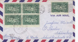 Statele Unite 1958 - Vignete Suport Invalizi