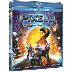 Pixels - O aventura digitala 3D + DVD / Pixels [Blu-Ray Disc + DVD]