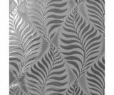 Tapet Foil Embossed Leaf Silver 53x1005 cm