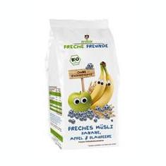 Musli cu Banane Mere si Afine Bio 200gr Erdbar Cod: 4260249142466