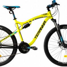Bicicleta Mtb Dhs 2745 480Mm Galben Aprins 27.5 Inch
