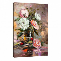 Tablou Vintage Roses 50x70 cm