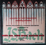 2 Vinyl Wagner Johann Sebastian Bach /Oradea Philharmonic Chamber Orchestra,1987