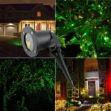 Cumpara ieftin Proiector metalic de lumini laser cu telecomanda si timer ce acopera pana la 60 m2