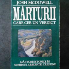 JOSH McDOWELL - MARTURII