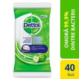 Servetele dezinfectante Dettol 40 buc Mar Verde