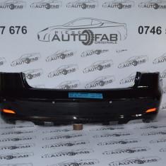 Bară spate Audi A3 Cabriolet an 2013-2016 cu găuri pentru Parktronic și camere