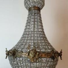 Impozant candelabru in stilul francez Empire