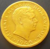 Moneda ISTORICA 2000 LEI - ROMANIA, anul 1946   *cod 2071