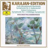 Mendelssohn - Italienische Symphonie, Schumann, Fruhlings CD Deutsche Grammophon