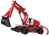Cumpara ieftin Excavator Double Eagle - Piese Lego - PULL BACK (C52012W)