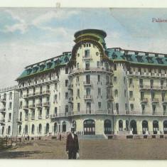 cp Govora : Palace Hotel - circulata 1928, timbre