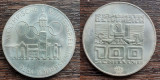 (A42) MONEDA DIN ARGINT AUSTRIA - 100 SCHILLING 1976,JOCURILE OLIMPICE INNSBRUCK, Europa
