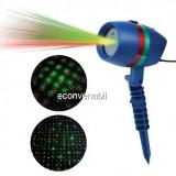 Laser Proiector tip Star Shower Puncte Rosu Verde LZ9604
