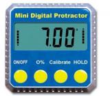Inclinometru digital cu magneți și display vertical vertical LCD