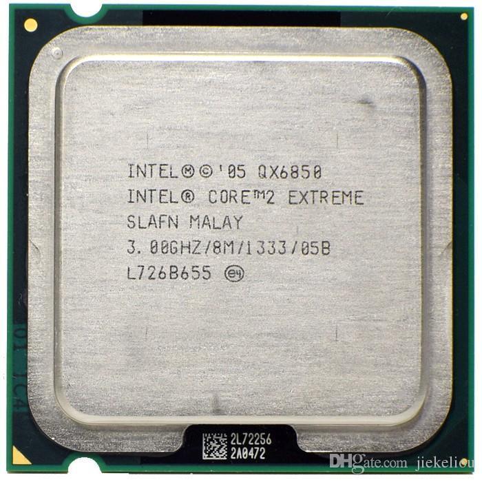 Procesor PC Intel Core 2 Quad Extreme QX6850 SLAFN 3Ghz LGA775