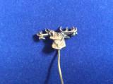 Insignă vânătoare - Cerb carpatin