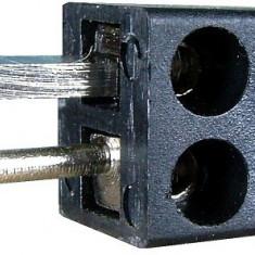 Conector boxe 2 pini, tata, pe cablu - 123600