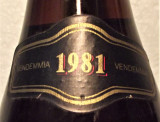 68- VIN ROSU BAROLO, DOCG, GIORDANO recoltare 1981 cl 75 gr 13