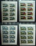 Tanzania 1986 Cars x 8 in blocks MNH S.634, Nestampilat