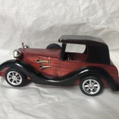Macheta masina de epoca,din lemn
