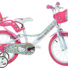 Bicicleta copii 16'' Hello Kitty PlayLearn Toys