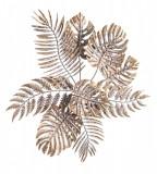 Decoratiune din metal auriu vintage pentru perete Azhira 68 cm x 6 cm x 67h Elegant DecoLux, Bizzotto