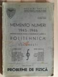 Memento numeri 1945-1946 Probleme de fizica- Neculai Raclis