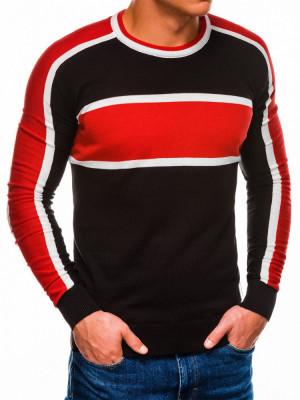 Bluza barbati E145 - negru foto
