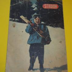 """Revista sport - """"STADION"""" (nr. 12 / 1954)"""