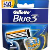 Rezerve aparat de ras Gillette Blue 3, 3 buc