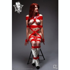 20m Bondage Tape Red
