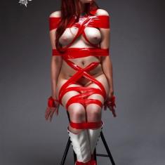 20m Bondage Tape Red