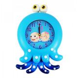 Ceas de Perete pentru Copii Blue Octopus XW7260